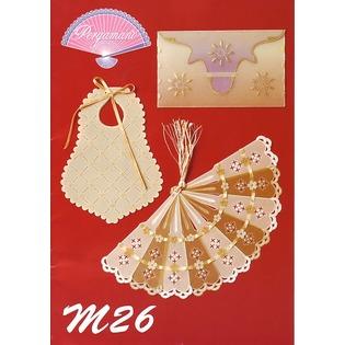 Купить Набор схем для парчмента Pergamano M26 Бумага для парчмента