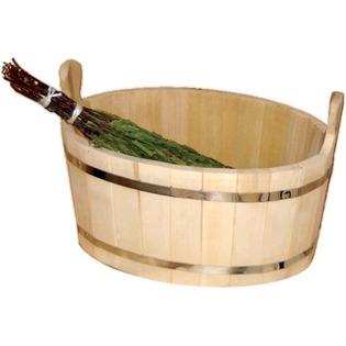Купить Ушат Банные штучки «Шайка» из кедра