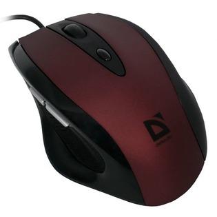 Купить Мышь DEFENDER Opera 880 Red+Black USB