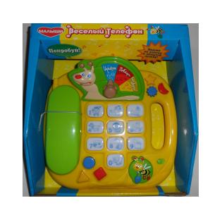 Купить Игрушка развивающая МАЛЫШИ «Веселый телефон»