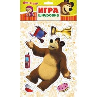 Купить Игра-шнуровка Маша и Медведь «Миша»