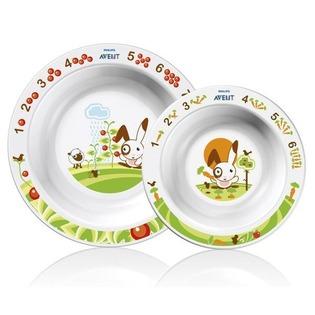 Купить Набор из 2-х глубоких тарелок PHILIPS AVENT SCF 708/00