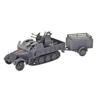 Купить Сборная модель полугусеничного тягача Revell Sd.Kfz. 7/1