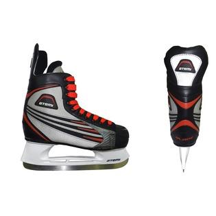 Купить Коньки хоккейные ATEMI BLADE RED