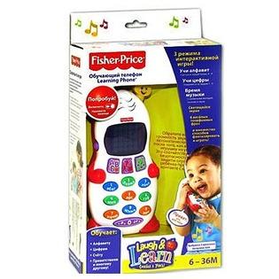 Купить Телефон игрушечный Fisher Price Смейся и учись