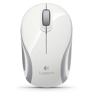 Купить Мышь Logitech Mini M187 White Wireless USB