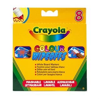 Купить Набор фломастеров Crayola «8 цветов радуги»