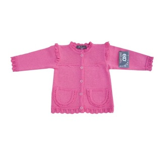 Купить Кофта для девочек EKO «Бантик». Цвет: розовый