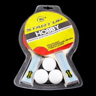 Купить Набор для настольного тенниса Start Up BR-17/0 star
