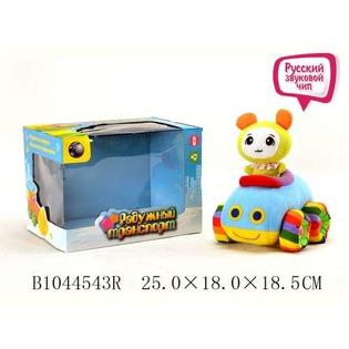 Купить Мягкая игрушка музыкальная Tongde «Машинка» В72426