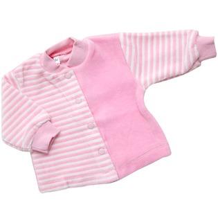 Купить Кофточка IDEA KIDS «Весёлые полосатики». Цвет: розовый