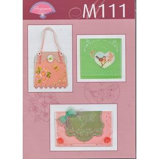 Купить Набор схем для парчмента Pergamano M111 Ботанический сад