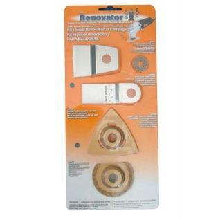 Купить Набор насадок для ручного инструмента Renovator Heavy/Tile Pack: 5 шт.