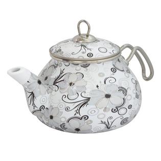 Купить Чайник эмалированный Interos «Кружево»