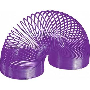 Купить Ретро-пружинка Slinky Цветная металлическая. В ассортименте