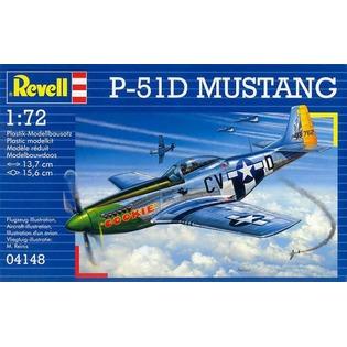 Купить Сборная модель самолета Revell P-51D Mustang
