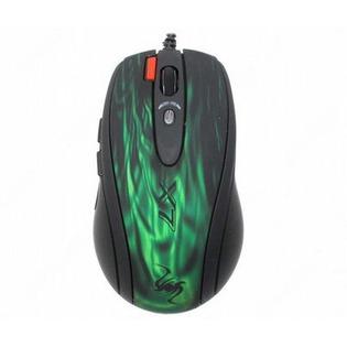 Купить Мышь A4Tech XL-750BK Green USB