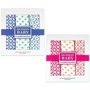 Купить Комплект пеленок Hudson Baby «Графические узоры»