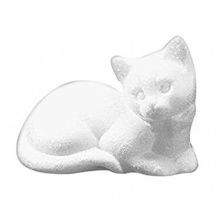 Купить Фигурка из пенопласта Rayher Лежащая кошка