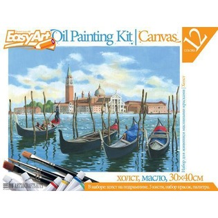 Купить Набор для живописи масляными красками EasyArt №1 «Венеция»