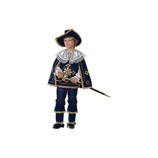Купить Мушкетер короля синий, рост 140