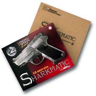 Купить Пистолет с пистонами Edison Giocattoli Sharkmatic Historic-Edition