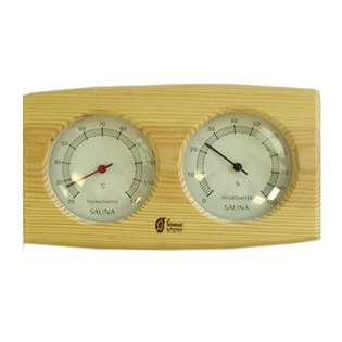 Купить Термометр для бани и сауны Банные штучки с гигрометром