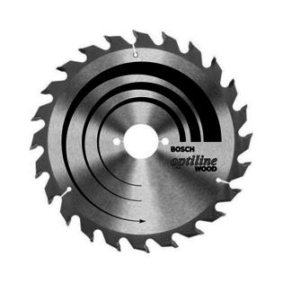 Купить Диск отрезной для ручных циркулярных пил Bosch Optiline Wood 2608640614