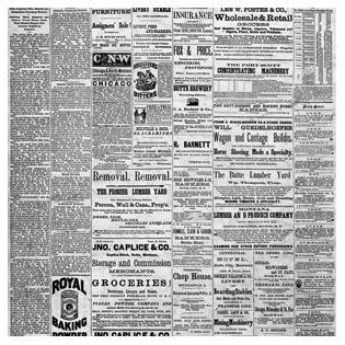 Купить Бумага для скрапбукинга Bazzill Basics «Газета»