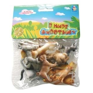 Купить Набор игрушечных собак и кошек 1 TOY Т50535