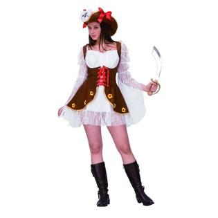 Купить Костюм карнавальный женский Шампания Пиратка