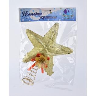 Купить Верхушка елочная Метелица «Звезда» 7507