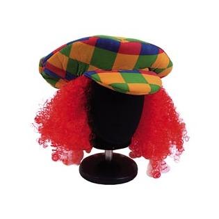 Купить Шляпа с волосами Шампания «Кепка клоуна»