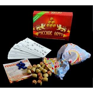 Купить Игра «Русское лото». Материал: дерево, пластик