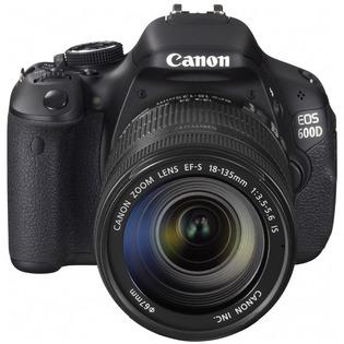 Купить Фотокамера цифровая Canon EOS 600D Kit EF-S 18-135mm IS