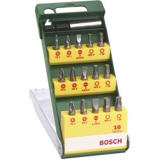 Купить Набор бит Bosch 2607019453 (PH, PZ, T, HEX, SL)