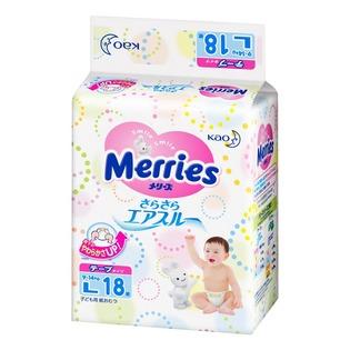 Купить Подгузники на липучках Merries размер L 9-14 кг