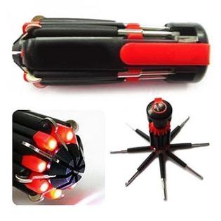 Купить Отвертка многофункциональная с фонариком Irit IR-103H