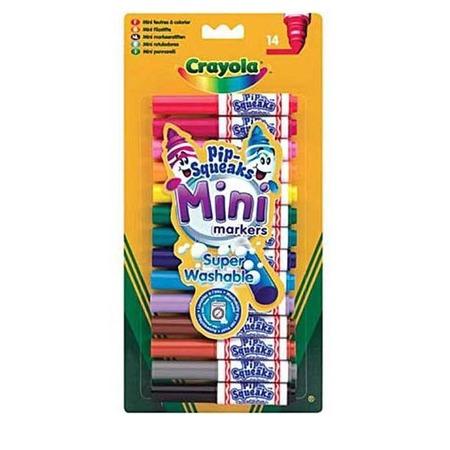 Купить Набор мини-маркеров Crayola Super Washable