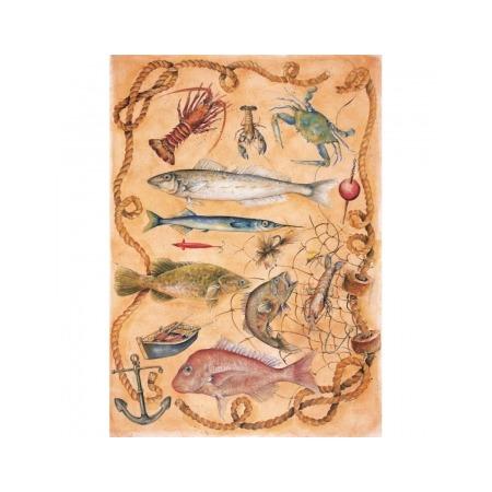 Купить Бумага для декупажа Finmark Decoupage «Дневной улов»