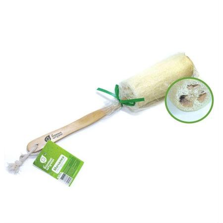 Купить Мочалка из люфы Банные штучки на деревянной ручке