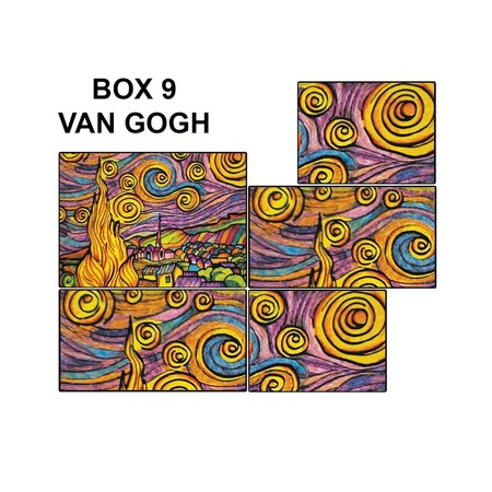 Купить Коробка-раскраска Color Velvet «Ван Гог»