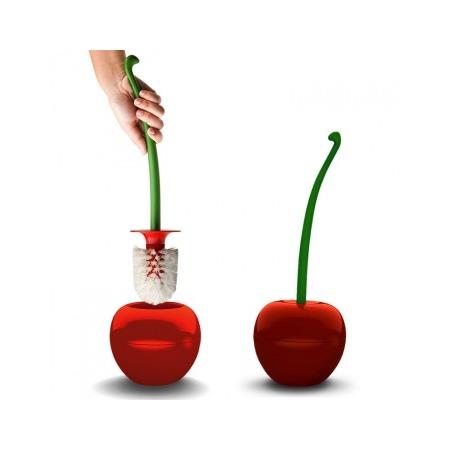 Купить Ершик туалетный Qualy Cherry