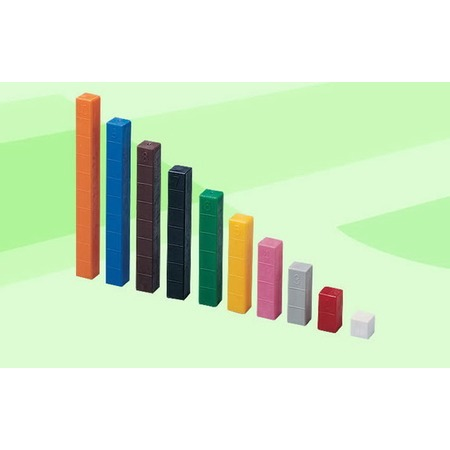 Купить Конструктор развивающий Gigo «Счетные палочки Кюизенера»