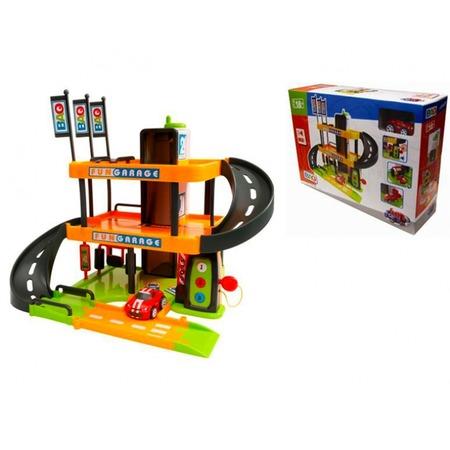 Купить Игровой набор Smoby «Трехуровневый гараж»