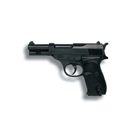 Купить Пистолет Edison Giocattoli FBI Federal Metall Police