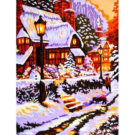 Купить Канва с нанесенным рисунком Collection D'art 10418