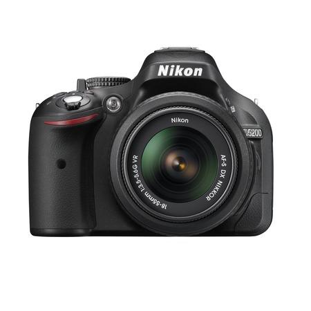 Купить Фотокамера цифровая Nikon D5200 Kit 18-55 VR