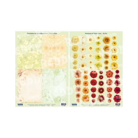 Купить Аппликация вырубная для объемных рисунков Reddy Creative Cards «Маленькие цветы»