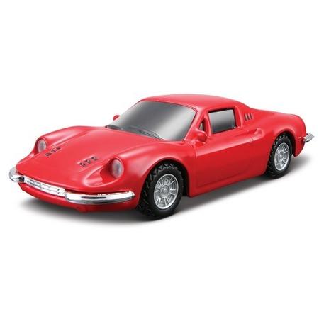 Купить Модель автомобиля 1:43 Bburago Ferrari Dino 246 GTS (со звуком мотора Testarossa)